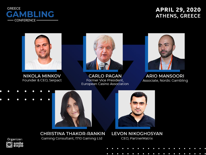 First Five Experts to Speak at Greece Gambling Conference