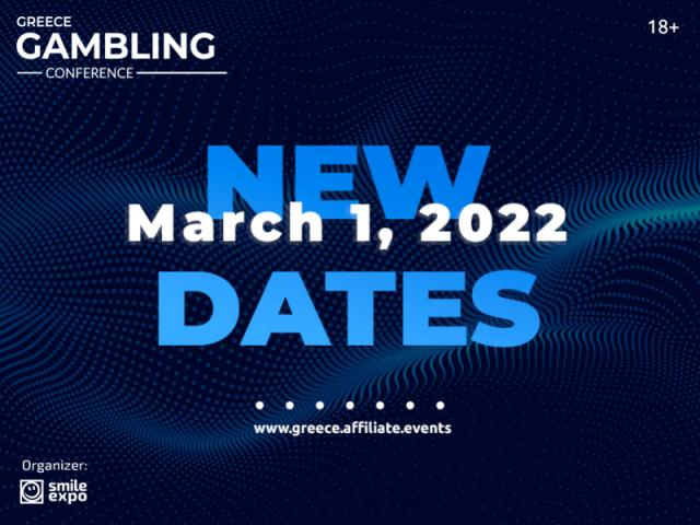 Caring About Guests and Participants: Greece Gambling Conference is Rescheduled to Spring 2022