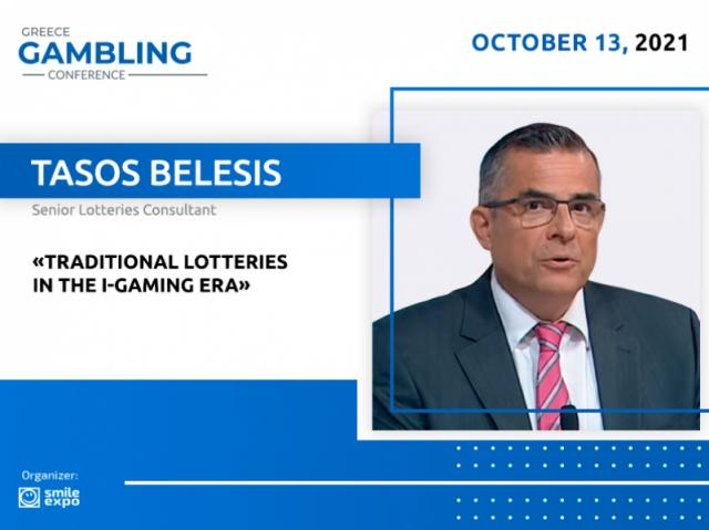 The Current Situation on the Lottery Market: Consultant Tasos Belesis Will Speak at Greece Gambling Conference